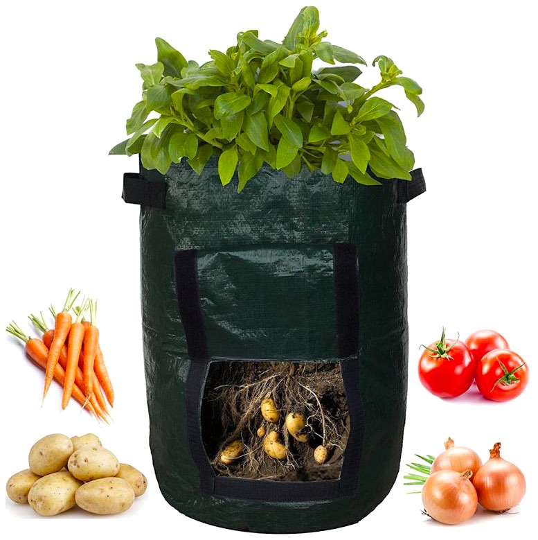Portabel odlingslåda - Plant Grow Bag
