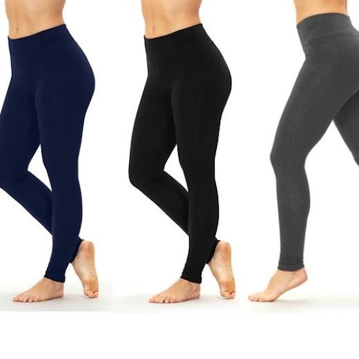 Tummy Control Leggings - Hög midja